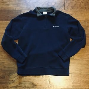 Men's Columbia half zip sweatshirt M